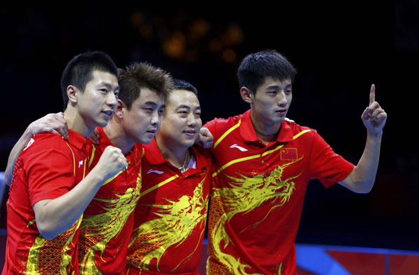chinese table tennis team 2
