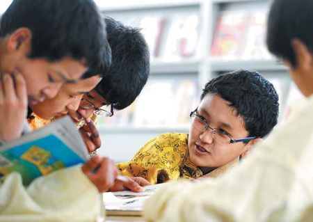 Education gives young Tibetans a head start