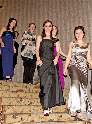 Debutante ball bounces back