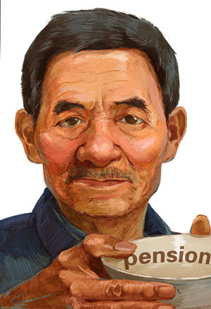 Pension: the age-old problem