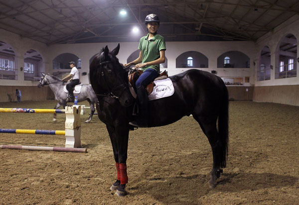 Young riders hope to enjoy a new rein