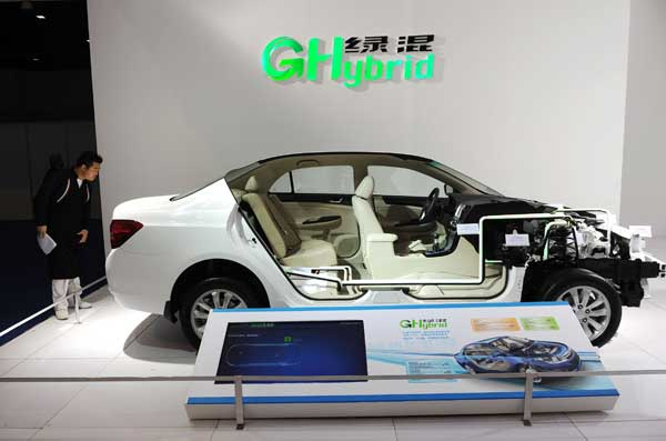 New energy vehicles await fuel injection