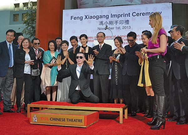 Chinese movie director makes his mark in Hollywood