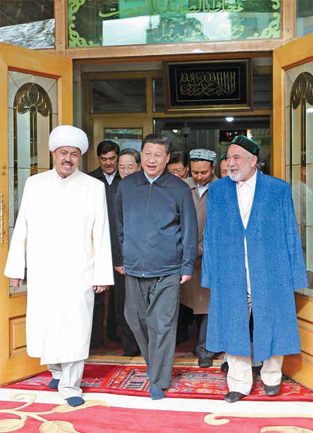 Xi spreads the word on fighting terror