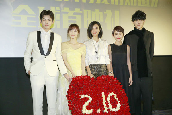 A female touch in Chinese movie market