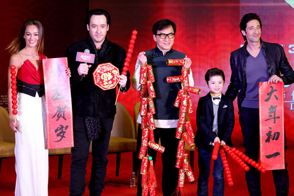 Mainland theaters see huge revenue in Lunar New Year