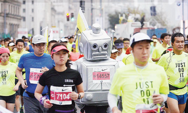 Chinese runners go the distance
