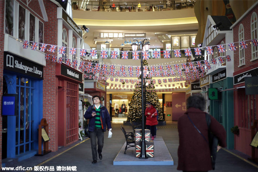 British culture in full bloom at Shanghai exhibition