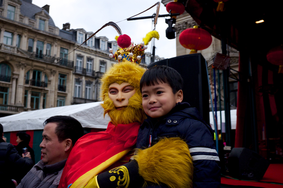 Cuties around the world celebrate Chinese New Year