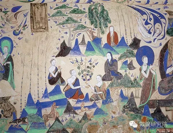 Dunhuang mural paintings tell stories of trees
