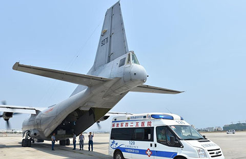 PLA carries out historic medical mission in South China Sea