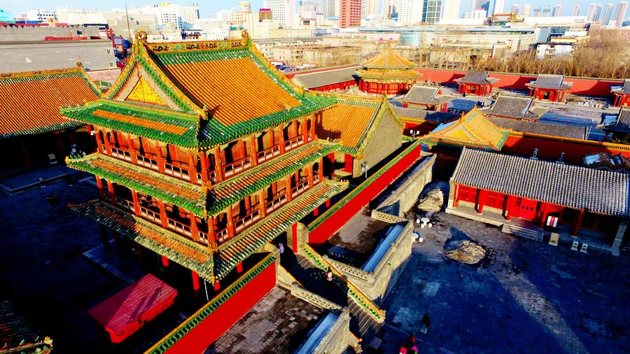 Jingdian Pavilion in Shenyang Palace Museum opens after renovation