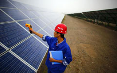<BR>China's PV plants hungry for financing