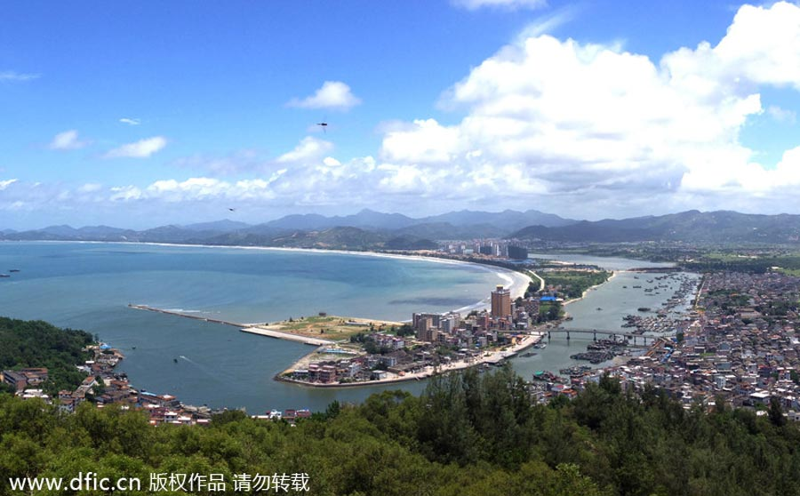 Shanwei China  city images : Top 10 cities with best air quality in China[5] Chinadaily.com.cn