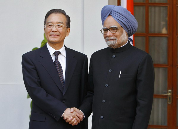 Wen voices hope for closer China-India ties