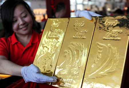 Wenzhou property investors turn to gold