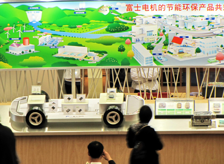 China pushes to develop green economy