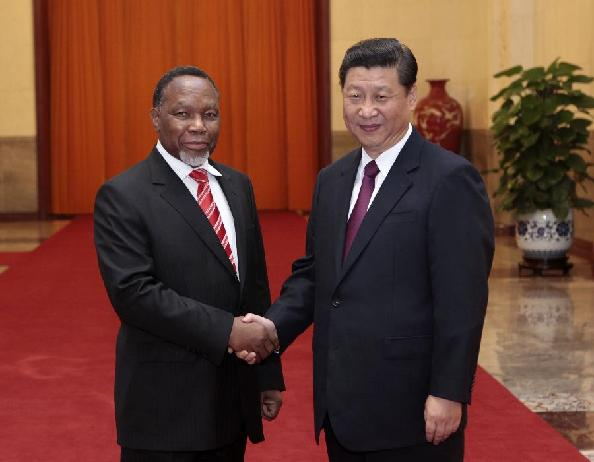 China, S Africa ink deals on resources, finance co-op