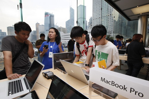 Apple finds many want to take a bite of its business