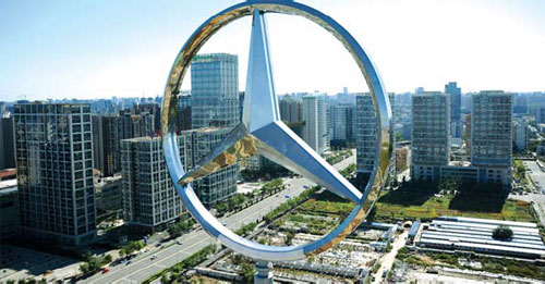 Mercedes benz raises stake for unified dealer management for Mercedes benz usa factory