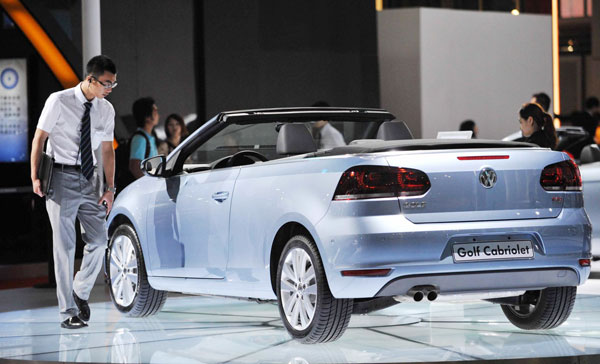 China, Biggest Customer For VW Luxury Cars