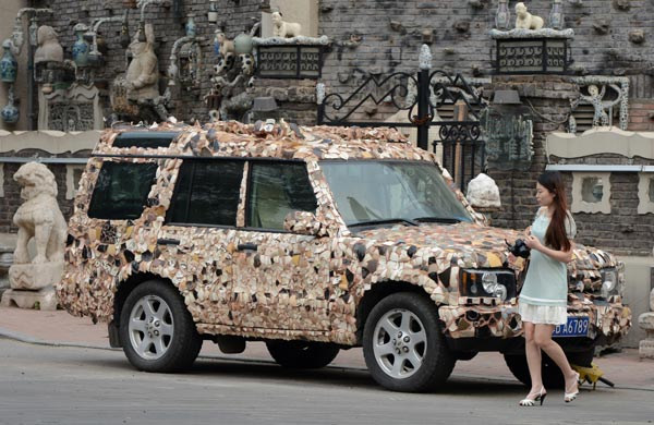 Land Rover Clad In Porcelain 1 Chinadaily Com Cn