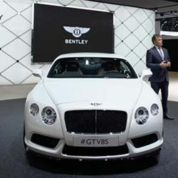 Bentley in high gear despite fall in sales