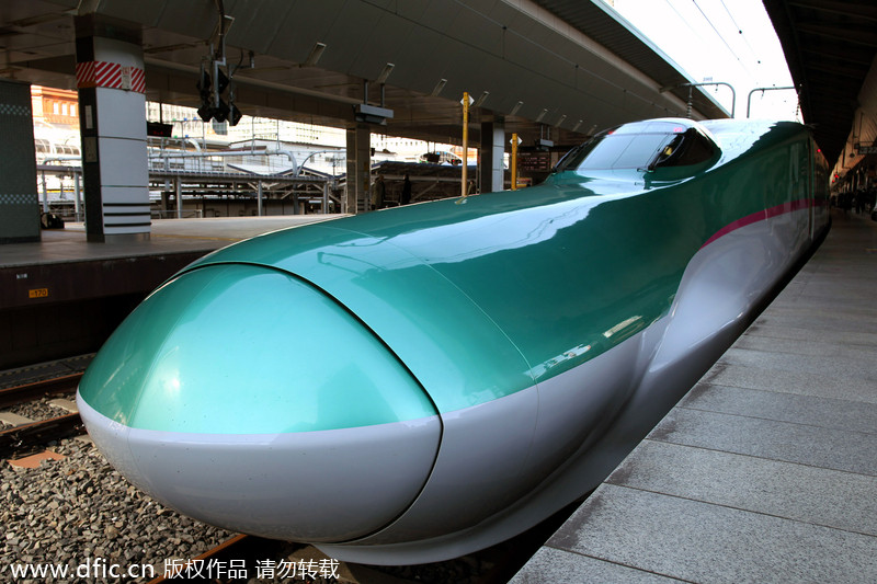 Top 10 High Speed Trains In The World 7 Chinadaily Com Cn