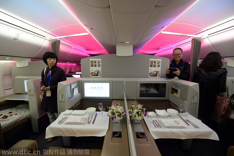 Air Chinas First Boeing 747 8 Set To Take Off