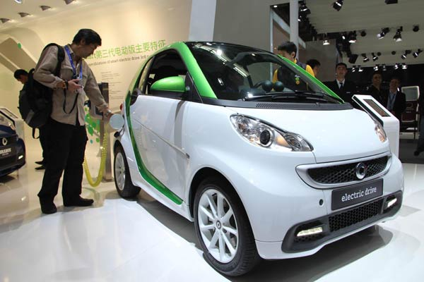Future looks bright for electric cars in China
