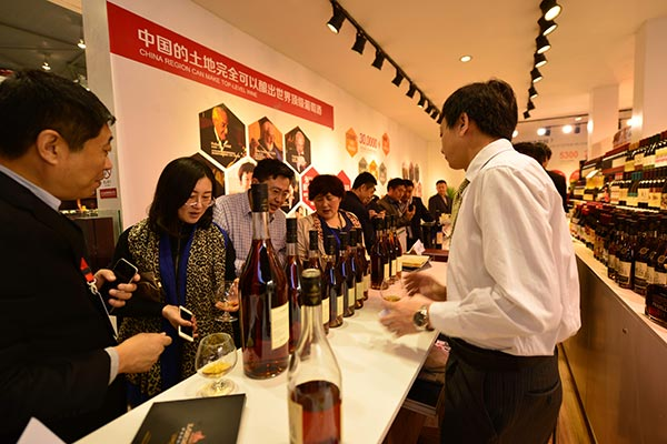 Chinese wine enters Spanish market for first time