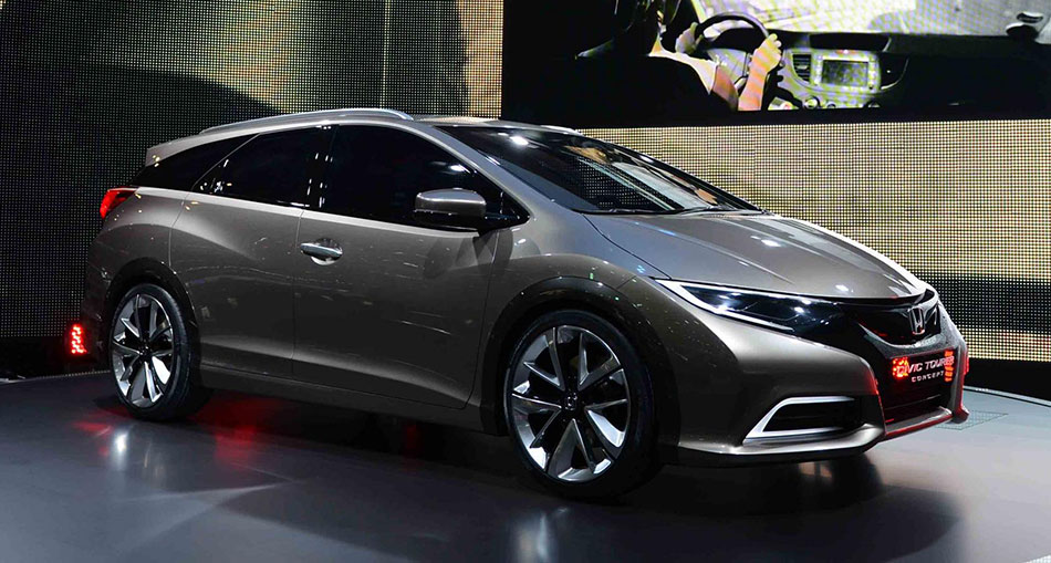 Hondas Concept Cars At Geneva Motor Show