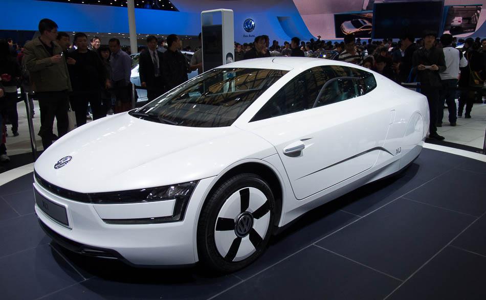 Vw Xl1 Concept Car At Shanghai Auto Show 2013 2