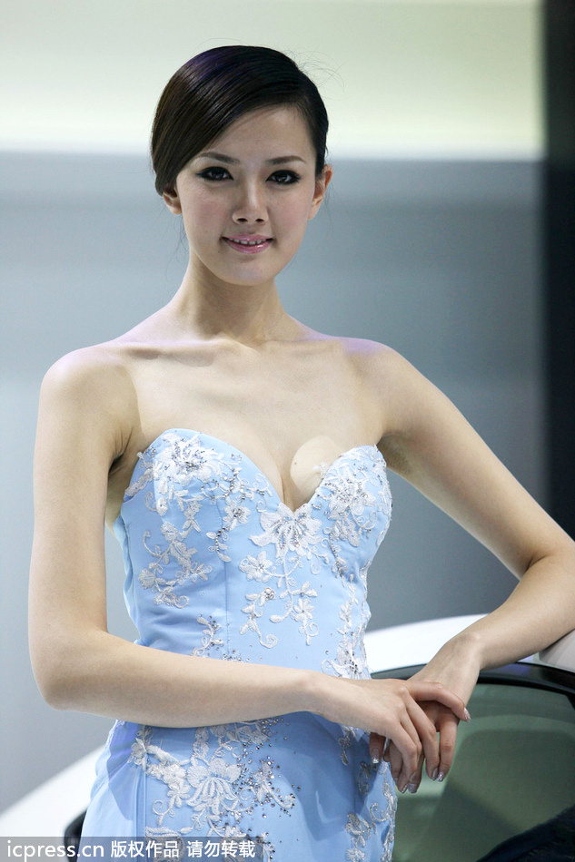 Models Strut Their Stuff At Auto Shanghai Auto Show 2013 2