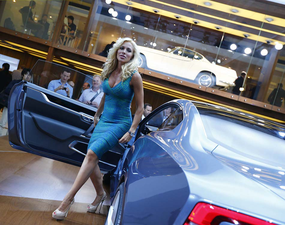 Concept Cars Shine At Auto China 2016 1 Chinadaily Com Cn: Cars, Models At Frankfurt 2013 Motor Show[8]