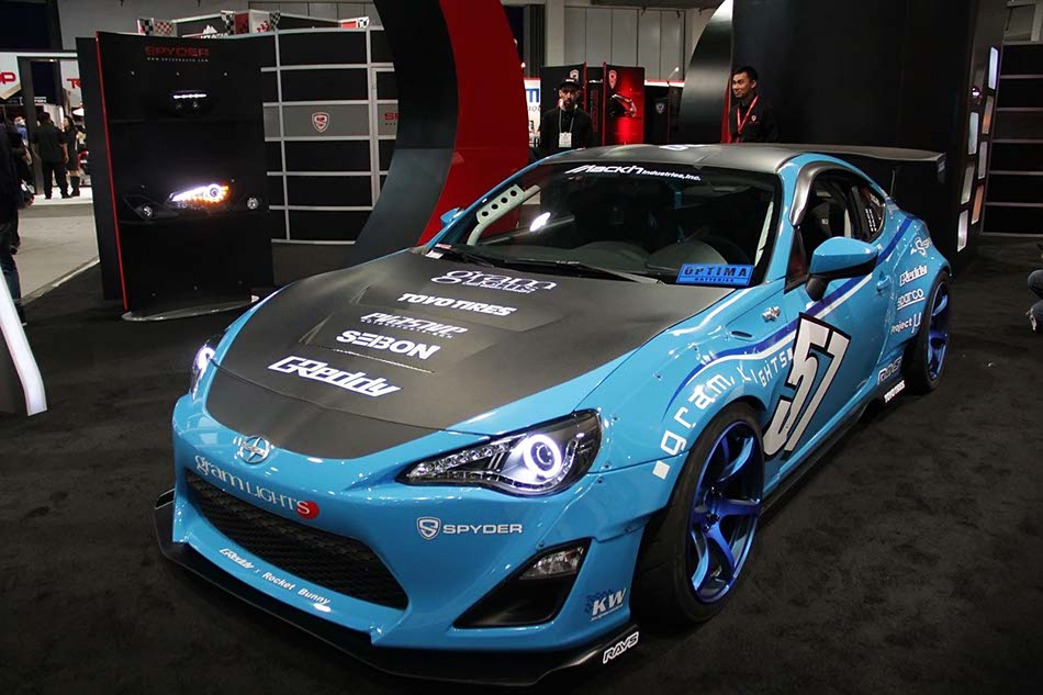 Modified Scion Fr S Toyota 86 By Spyder At Sema Show 1