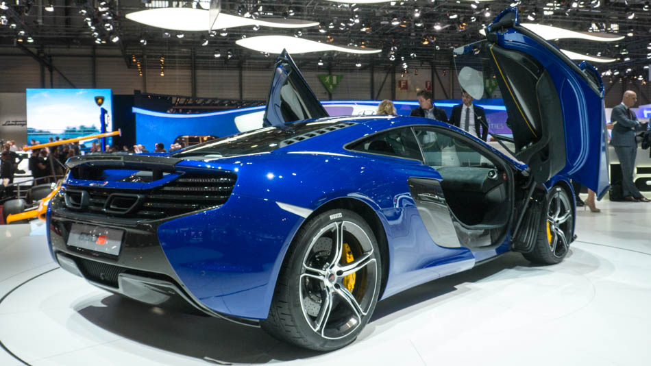 Top Luxury Sports Cars At Geneva Motor Show