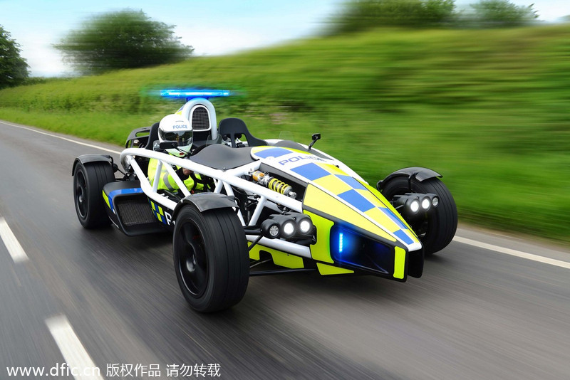 World S Fastest Police Car 1 Chinadaily Com Cn