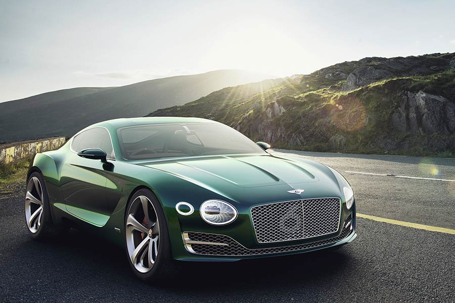 Bentley concept cars