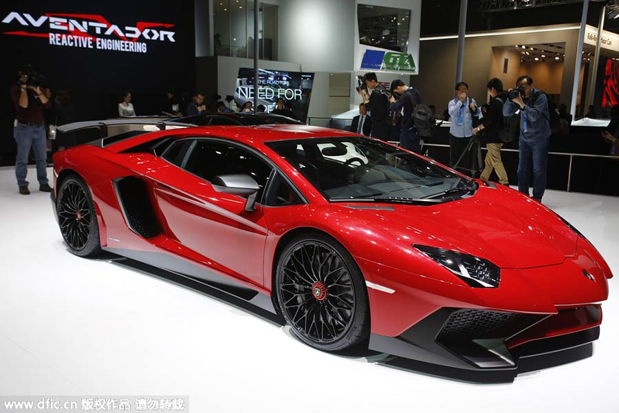 Top 10 Most Expensive Supercars At Auto Shanghai 2015 9 Chinadaily