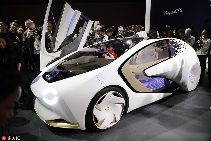 Concept Cars Shine At Auto China 2016 1 Chinadaily Com Cn: Car Makers Display High-tech Vehicles At CES 2017[6