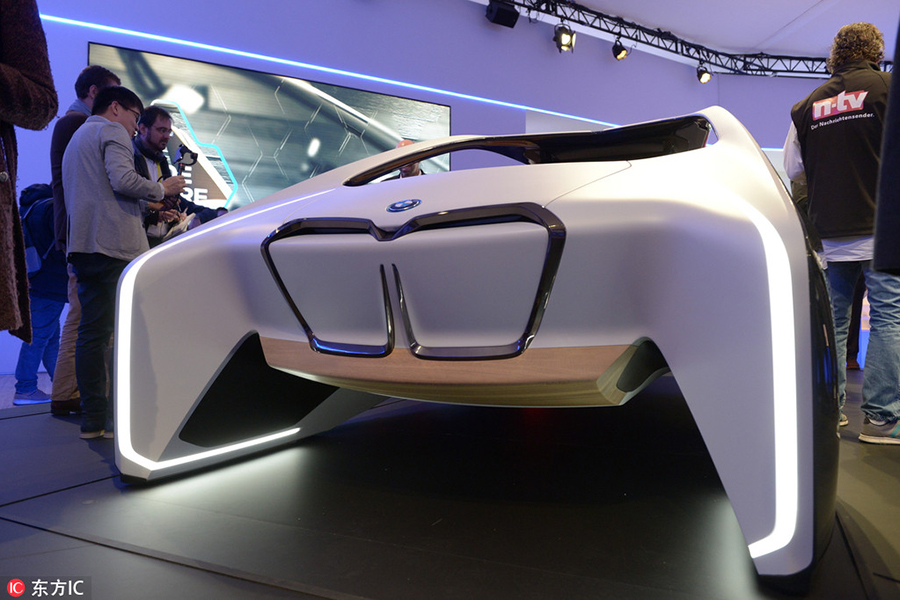 Car Makers Display High Tech Vehicles At Ces 2017 8