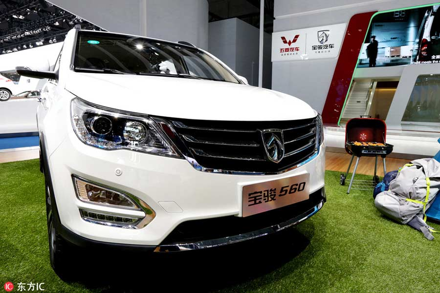 top 10 best selling car models in china