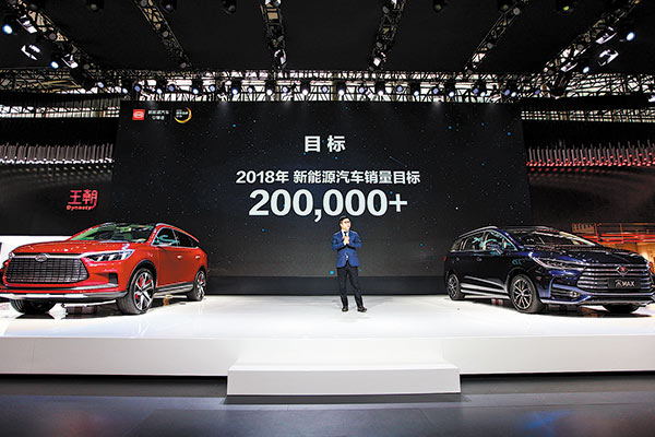 Byd Auto S New Energy Targets Reveal Optimism For A Per 2018
