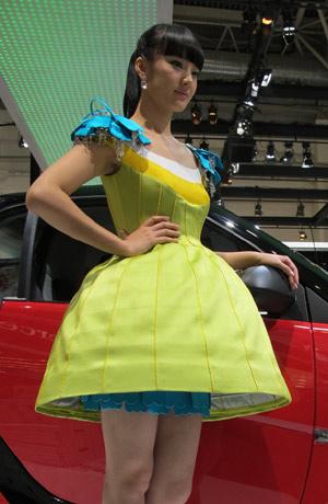 Volvo Ss Asian Premiere - Asian car show girls