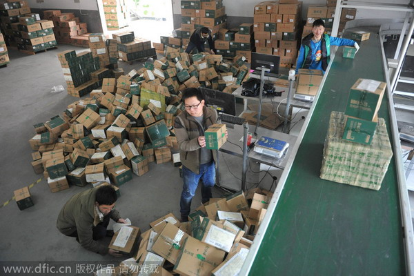 Online shopping boom for Chinese New Year - Business