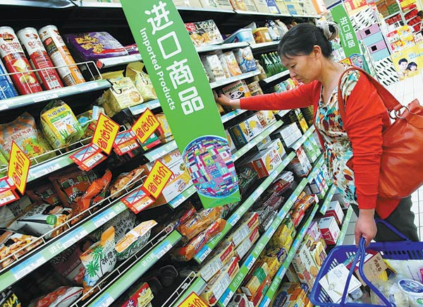 China has a healthy appetite for food imports[1]