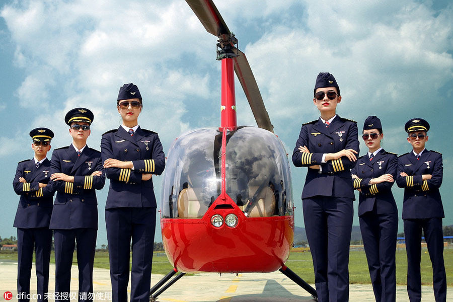 Handsome salary of helicopter pilot lures college applicants[1]