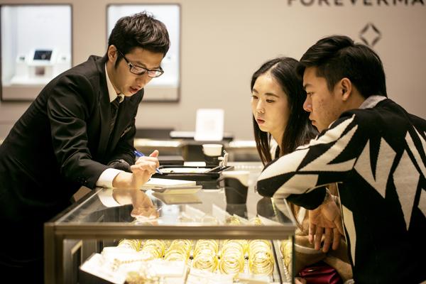 Millennials sparkle with diamonds - Business