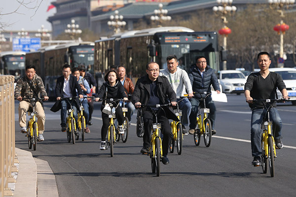 Report says China's sharing economy to grow 40% annually - Business